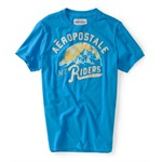 Aeropostale Mens Mt Riders Graphic T-Shirt