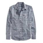 American Rag Mens Hanson Plaid Button Up Shirt