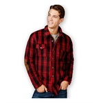 American Rag Mens Plaid Shirt Jacket