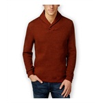 Tasso Elba Mens French-Ribbed Shawl Sweater