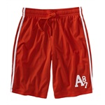 Aeropostale Mens Mesh Lined Basketball Athletic Walking Shorts