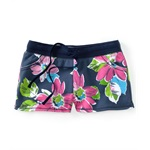 Aeropostale Womens Floral Design Athletic Sweat Shorts