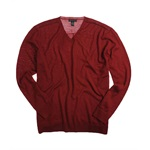 I-N-C Mens Merino Cadet Knit Sweater