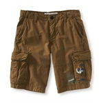 Aeropostale Mens Er Length Cal Surf Casual Cargo Shorts