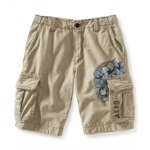 Aeropostale Mens Er Length Floral Design Casual Cargo Shorts