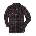Ecko Unltd. Womens L/s Plaid Button Up Shirt