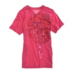 Ecko Unltd. Mens Erms T V-neck Graphic T-Shirt