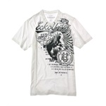 Ecko Unltd. Mens Fading Fas V-neck Graphic T-Shirt