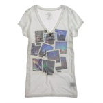 Ecko Unltd. Womens Sublimation Party Photo Graphic T-Shirt