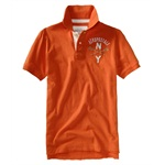 Aeropostale Mens Ny A87 Athletic Department Rugby Polo Shirt