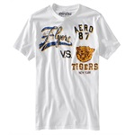 Aeropostale Mens Flyers Vs Tigers Graphic T-Shirt