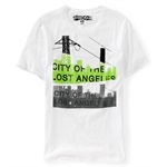 Aeropostale Mens City Ofhe Lost Angeles Graphic T-Shirt
