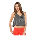 Vans Womens Skelty Cat Flared Tank Top