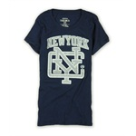 Ecko Unltd. Womens Sports Ny Crew Nk Bling Graphic T-Shirt