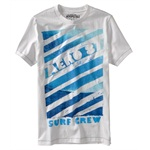 Aeropostale Mens Surf Crew Graphic T-Shirt
