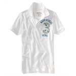 Aeropostale Mens Wave Rider Jersey Rugby Polo Shirt