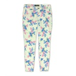 Ecko Unltd. Womens Floral Stretch Jeggings