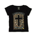 Ecko Unltd. Womens Don't Cross Me Animal Graphic T-Shirt