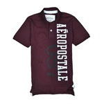 Aeropostale Mens 87 Rugby Polo Shirt
