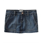Aeropostale Womens Jeankirt Mini Skirt