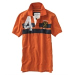 Aeropostale Mens F.c. 4 Rugby Polo Shirt