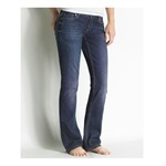 Aeropostale Womens Curvy Fit Boot Cut Jeans