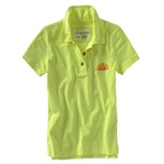 Aeropostale Womens Aero Surf Co. Polo Shirt