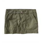 Aeropostale Womens Chino Khaki Mini Skirt