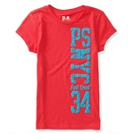 Aeropostale Girls NYC East Coast Embellished T-Shirt