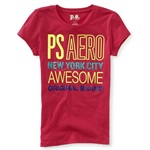 Aeropostale Girls Awesome Embellished T-Shirt