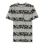 Ecko Unltd. Mens Camo Stripes pocket Graphic T-Shirt