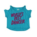 Aeropostale Girls World's Best Dancer Graphic T-Shirt