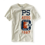 Aeropostale Boys Surf Crew Graphic T-Shirt