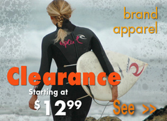 Woman's Clearance Sale